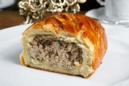 Кулебяка с мясом, 1000 гр.