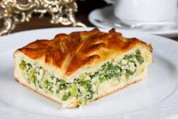 Пирог с луком и яйцом, 1000 гр.