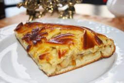 Пирог с грушей, 1000 гр.