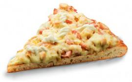 Пицца Барбекю, слайс