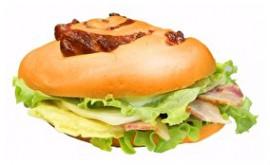 Сэндвич с ветчиной и омлетом