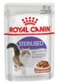 Влажный корм Royal Canin Sterilised в соусе д/кошек, 85 гр.