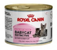Консервы Royal Canin Babycat Instinctive д/котят, 195 гр.