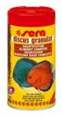 Корм Sera Discus granulat гранулы для дискусов