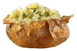 Картофель с укропом ХL