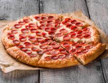 Пицца Пепперони, слайс